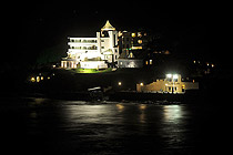 Burgh Island at night